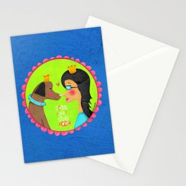 Dogs Are True Love Stationery Cards