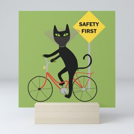 Safety first Mini Art Print