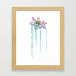 Lotusfall Framed Art Print