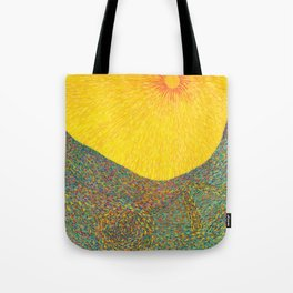 Here Comes the Sun - Van Gogh impressionist abstract Tote Bag