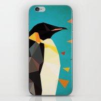penguin iPhone & iPod Skins featuring penguin by gazonula