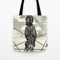 pagan Tote Bags featuring Pagan practioners by DIVIDUS