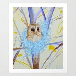 Nesting Tree Art Print