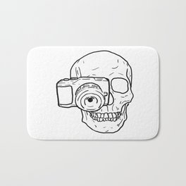 Killer Behind The Lens Bath Mat