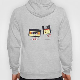 Floppy disk and cassette tape Hoody