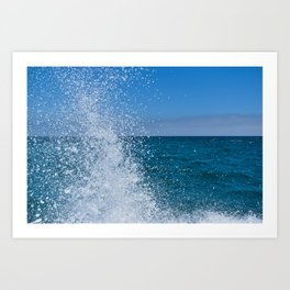 Waves 3 Art Print