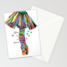 LOVE IS A DANCE Stationery Cards
