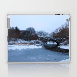 white Central Park Laptop & iPad Skin