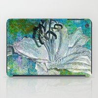 lily iPad Cases featuring Lily by Saundra Myles