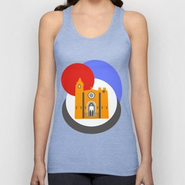 Noia, a beautiful town in Galicia Unisex Tank Top