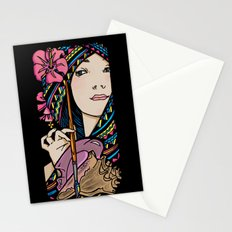 Tribal Artist Stationery Cards