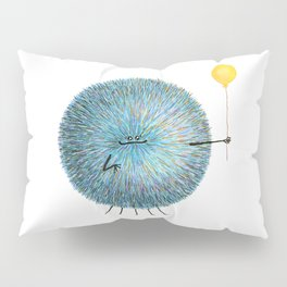 Poofy Poofus Pillow Sham