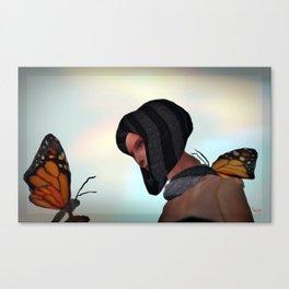 """Loving Wings"" Canvas Print"