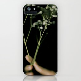 i got a flower for you iPhone Case