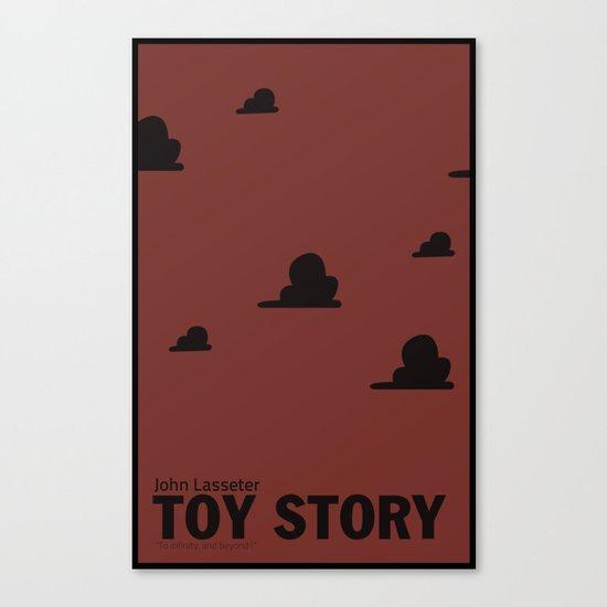 Toy Story | Minimalist Movie Poster Canvas Print