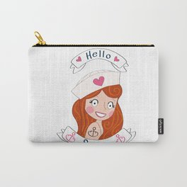 Hello Sailor! Carry-All Pouch