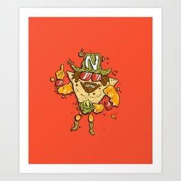 Nacho Man Art Print