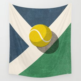 BALLS / Tennis (Hard Court) Wall Tapestry