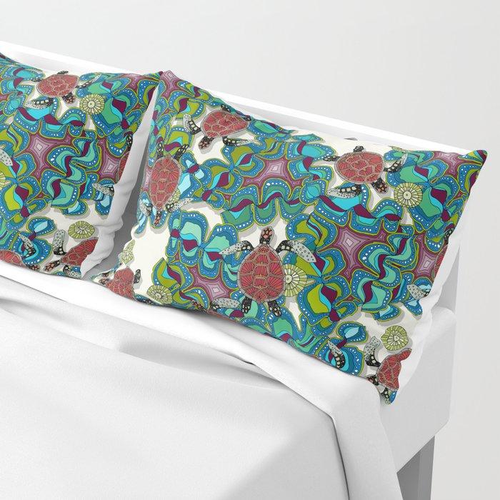 turtle reef Pillow Sham