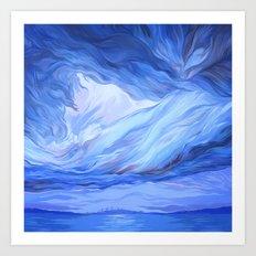 Clouds #8 Art Print