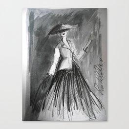 Diors New Look Canvas Print