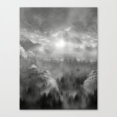 Black and White - Wish You Were Here (Chapter I) Canvas Print