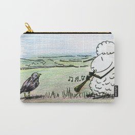 Too Many Captions to Choose From Carry-All Pouch