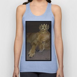 """""""PRINCE * PLaY-DoH"""" from the photo series""""My dog, PLaY-DoH"""" Unisex Tank Top"""