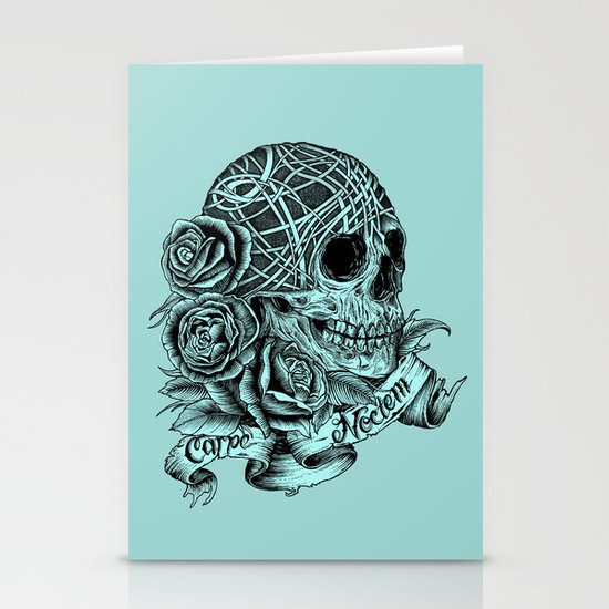 Carpe Noctem (Seize the Night) Stationery Cards