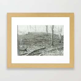 Life in Death Framed Art Print