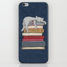 How to Chill Like a Cat iPhone & iPod Skin