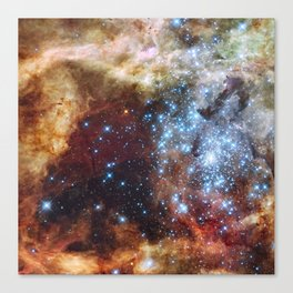 Grand star-forming region R136 in NGC 2070 Canvas Print