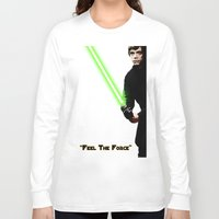 luke hemmings Long Sleeve T-shirts featuring Luke by KL Design Solutions