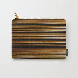 SCOTCH whiskey wood slats with shadows Carry-All Pouch