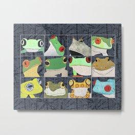 Frogs vertical Metal Print