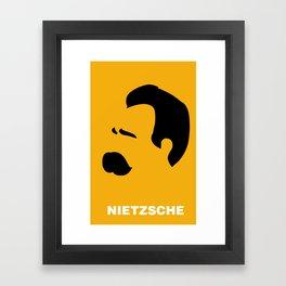 NIETZSCHE Framed Art Print