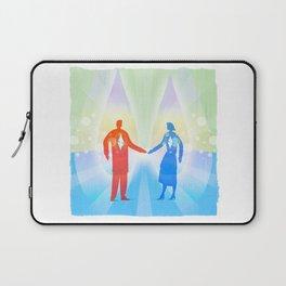Diamond Twin Souls Laptop Sleeve