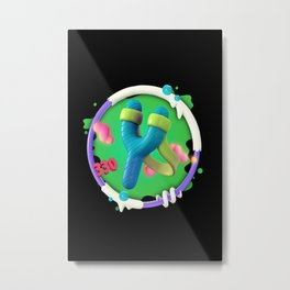 Not So Flappy now  Metal Print