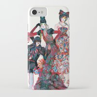 golden girls iPhone & iPod Cases featuring Girls by Felicia Atanasiu