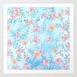 For the Roses Art Print