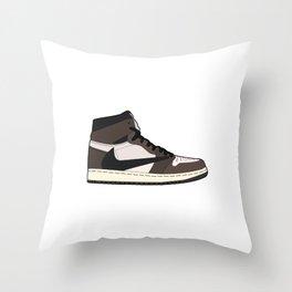 Jordan 1 Retro High Cactus Jack Throw Pillow