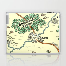 Sherwood Forest Laptop & iPad Skin