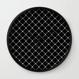 Rhombuses Wall Clock