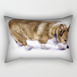 Pembroke Welsh Corgi Rectangular Pillow