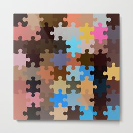 Another Puzzle Metal Print