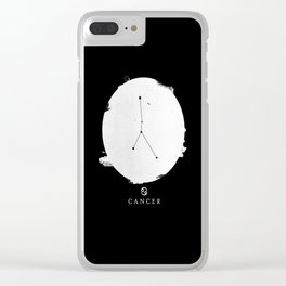 Cancer II Clear iPhone Case