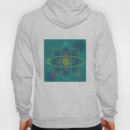 Line Atomic Structure Hoody