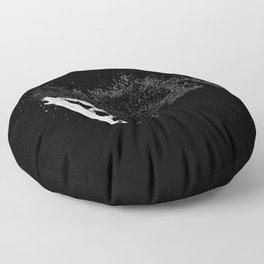 The Surfer Cosmic Floor Pillow