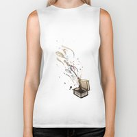 chaos Biker Tanks featuring Chaos. by Bezmo Designs