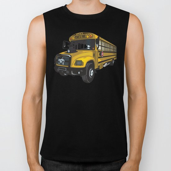 School bus Biker Tank
